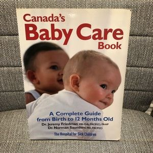 Canada's Baby Care Book